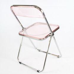 Wedding 투명한 명확한 아크릴 Foldable 가구 Sillas 접는 의자