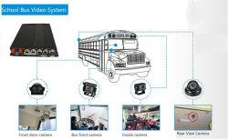 ロジスティクスのためのモニタが付いている4CH 720p GPS 4Gの追跡者移動式HD DVRのキット
