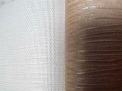 Tela semitransparente de malla Malla de tejido de gasa de color blanco brillante Osnaburg
