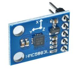 GY-273 de Drievoudige Module van de Sensor van de Magnetometer van het Kompas van de As 3V-5V Hmc5883L
