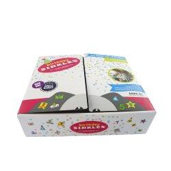 맞춤형 골지 부드러운 플러시 장난감 포장 상자