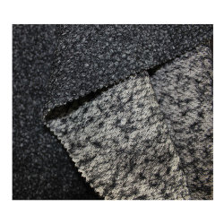 Tejido de fibra Spandex tejido Jacquard Top-Dyed lana tejido stretch de alta calidad