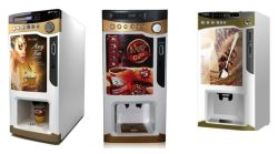 Boissons chaudes vending machine café instantané// le thé de lait