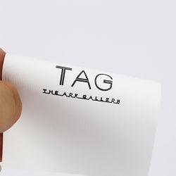 Impressão personalizada Não Tecidos Hangtag suave