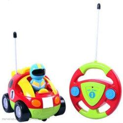 Controle de rádio Cartoon R/C Race Control Carro brinquedo para crianças