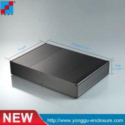 Cierre de campamentos de carcasa de aluminio anodizado Perfil Caja Shell batería