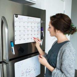冷蔵庫マグネット磁気冷蔵庫カレンダードライイレースボード