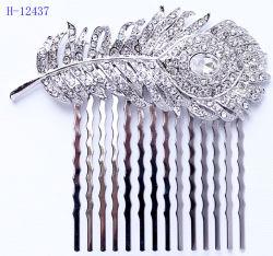 Rhinestone Crystal невесты свадебный гребень для волос контакты боковой гребень Аксессуары Ювелирные изделия