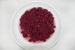 Las conservas de alubias rojas oscuras en salmuera 400g