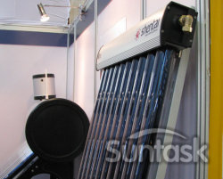 CE, ISO, 솔라 키마크가 있는 진공 튜브 태양열 수집기(SCM20-58/1800-01)