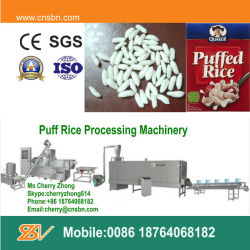 Le riz de bouffée de machines industrielles