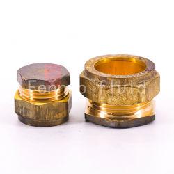 Brass 15mm Tubulação do Batente de compressão de latão conexões para Tubo de Cobre