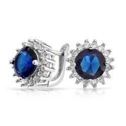 Les ventes à chaud 925 Silver Hoop Earrings Bijoux pour femmes