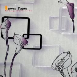Représentation tridimensionnelle de Design de mode 3D de matériau de revêtement de mur de papier peint en PVC