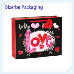 Saco de papel personalizado de luxo promocionais Presentes