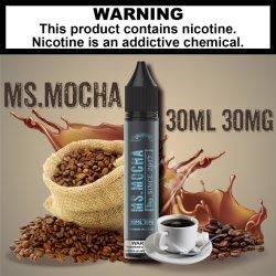 2021 Nouveau Mme Moka goût naturel de saveur, de l'E-liquides, vapeurs liquides, vapeurs jus pour l'E-/fumée de cigarette