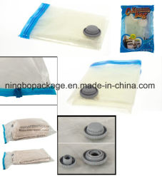 Bolsa de almacenamiento de vacío con el color transparente