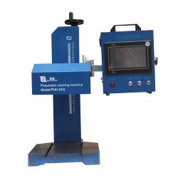 Freies Verschiffen computergesteuerte PUNKT Pin-automatische pneumatische Markierungs-Stahlmaschine für Typenschild