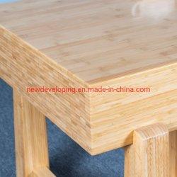De professionele Thee van de Rechthoek van het Blok van de Slager van het Bamboe Lange/Koffietafel, het Meubilair van de Woonkamer van het Huis van de Voeten van het Bamboe