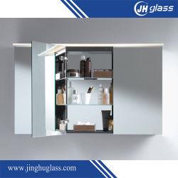Armoire Lamxon miroir rétroéclairé avec LED de lumière et de bas de la lumière ambiante