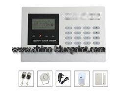 Ультратонкие ноутбуки ЖК-GSM домашней беспроводной системы сигнализации в исправности системы безопасности