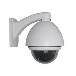 480TVL Sony CCD de 1/3 en el exterior 3 pulgadas mini cámara domo de velocidad de la cámara PTZ 10X de la cámara IP