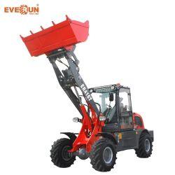 China koopt Everun Er416t 1.6 ton EPA CE Engine Farm Kleine voorbouwmachines machines Micro-miniwiellader met Hydraulische pomp te koop