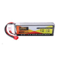 Batteria del polimero della batteria delle batterie 3s1p 11.1V 4000mAh Lipo di Lipo di capacità elevata per i modelli del ronzio di RC