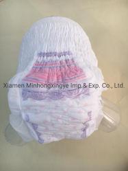 Les serviettes sanitaires des femmes sous-vêtements jetables Anti-Side de soins de la fuite des couches pour adultes pullup