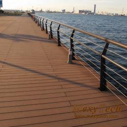 Quai maritime solide de recycler les revêtements de sol Meubles de bois Tablier en plastique