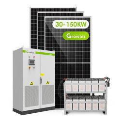 Systeem 30000W 150000W van de Zonne-energie van de Opslag van Atess het Hybride voor Commercieel