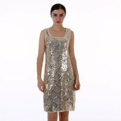 Mesdames Sequin de haute qualité de l'été Bling Bling Bandage paillette robes soirée