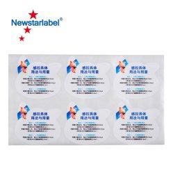 Los fabricantes de medicamentos veterinarios de plaguicidas pegatinas de colores personalizados de etiquetado automático de Color de etiqueta Package