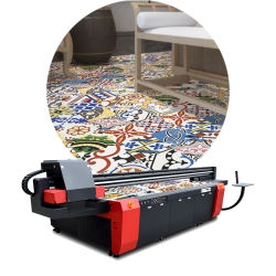 Der Mt-Digital Effekt-UVflachbettdrucker Drucken-Maschinen-3D für keramisches Teppich-Glasdrucken