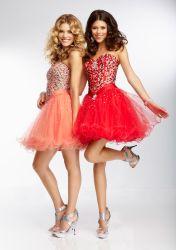 2015 короткое замыкание Sexy Prom-платья (PAD4003)