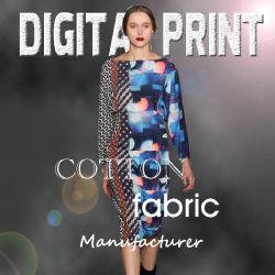Mode Textildrucke auf Baumwollstoff (X1048)