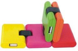 Mozzo pieghevole del USB delle 4 porte USB2.0