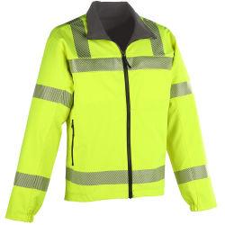 Reversível táctico Hi Vis Softshell Jacket