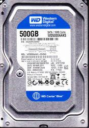 """Azionamento di disco rigido di Western Digital Wd5000aaks 500GB SATA 3.5 """""""
