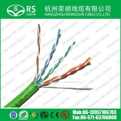 高品質24AWG Cat5e CAT6 Cat7 UTP/FTP/SFTP PVC LSZHネットワークLANケーブル