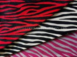 Dois lados Impressão escovado Veludo Super Macio impressas Velvet/tecido veludo com elastano