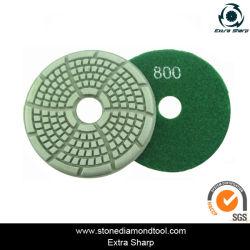 Plancher de la résine Meuleuse cireuse des électrodes multifonctions/abrasif pour le polissage sec et humide
