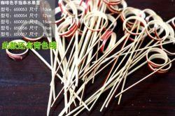 カクテルLooped Bamboo Picks、Beaded Bar Picks、Bead、Acrylic Bamboo Cocktail Picks、Decorative Promotion Picks、Wedding PicksのFood Picks