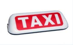 Rojo&White Material PP Taxi la parte superior de la luz de techo LED