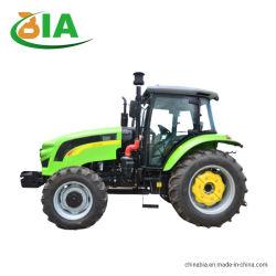 1004 высокого качества с приводом на 4 колеса трактора 100HP сад ферма трактора трактора передним погрузчиком плуга с обратной лопатой сельского хозяйства прицепа трактора