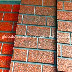 Paroi externe de la chaleur des panneaux isolants en mousse de polyuréthane en métal estampé