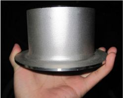 Raccord de tuyau en acier inoxydable de type MSS un talon de chèque de 304 316 fin