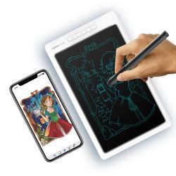 füllt intelligenter elektrischer Speicher 10inch Art-Kinder Bluetooth LCD Schreibens-Vorstand-Tablette mit APP auf