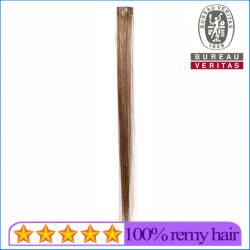 합성 머리카락 재질 화려한 실크와 함께 아름다운 머리카락 한 조각 싱글피스 클립 헤어 익스텐션 재치 헤어