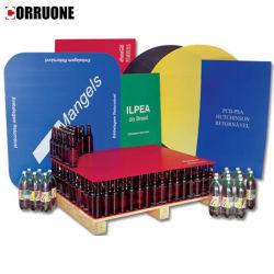 Fogli di strato Coroplast/Cartonplast/plastica corrugata/PP da 2 mm e 4 mm per Divisore bottiglia